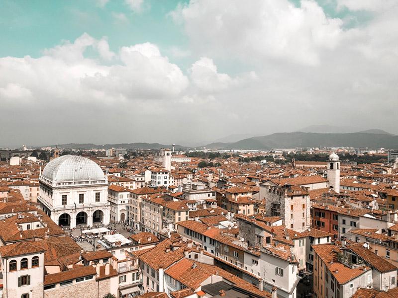 Brescia dalla Torre del Pegol