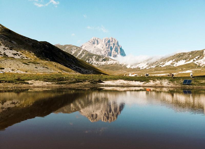 Lago Pietranzoni - Campo Imperatore